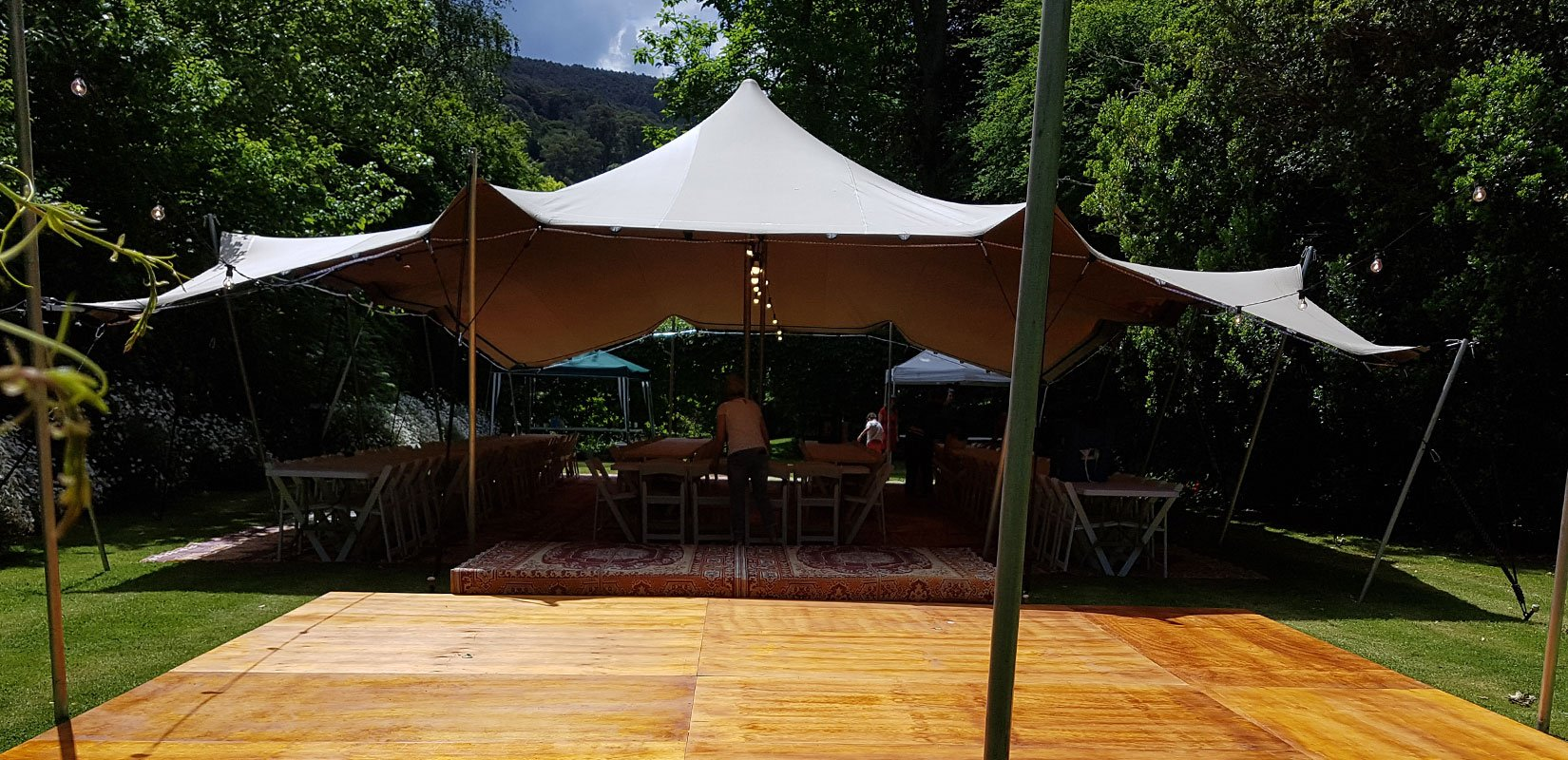 Stretch Marquee Hire | Stretch Tent Hire Melbourne | Stretched Events